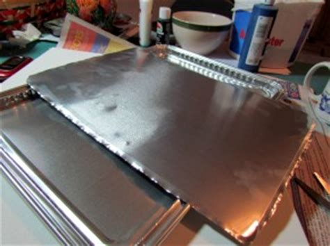 tin punch metal sheets faux punched tin tutorial