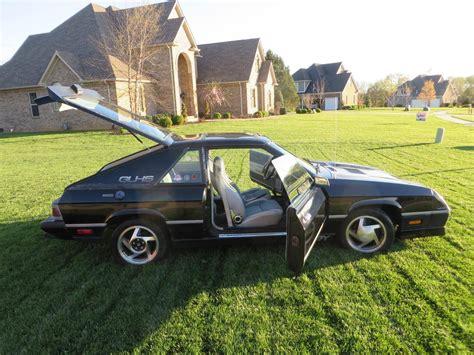 1987 dodge shelby charger 1987 dodge shelby charger glhs for sale 1836247