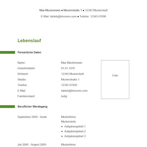 Lebenslauf Architekt Vorlage Vorlage 12 Tabellarischer Lebenslauf