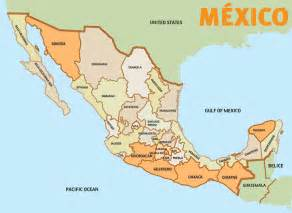 Map Of States Of Mexico by Map Of Mexico The Mexican States 2008