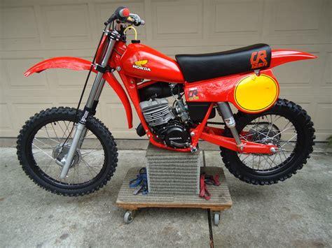 restored vintage motocross bikes for sale restored honda cr125 elsinore 1980 photographs at