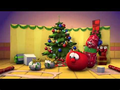 veggietales silly songs  larry wrapped    christmas youtube