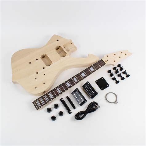 diy guitar kit ibanez iceman style guitar kit diy guitars