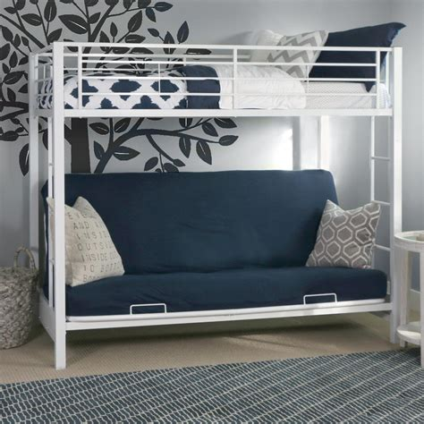 futon beds with mattress included futon bunk bed with mattress included blue new futon