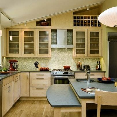 Kitchen Cabinets Vaulted Ceiling 29 Best Kitchen Sloped Ceiling Solutions Images On