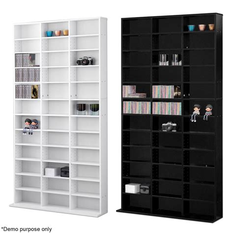 Dvd Cd Shelf by 1116 Cd Media Storage Shelf Unit Dvd Shelves Rack Bookcase Display Bluray Stand Ebay