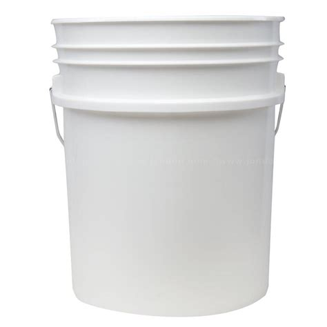 pail 1 5 gallons 5 gallon 90 mil jon don