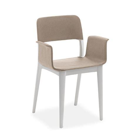 sedie poltroncina sedia poltroncina di design in polipropilene e rivestita