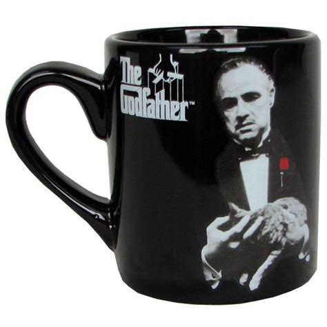 the godfather vito corleone mug silver buffalo