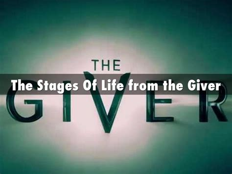 What Does Comfort Object In The Giver by The Stages Of From The Giver By Mckeown Gracie