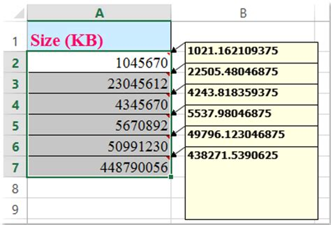 how to convert between kb and mb, gb, tb and vice versa?
