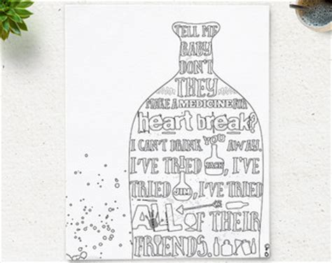coloring book lyrics printable quote coloring page instant home is where i