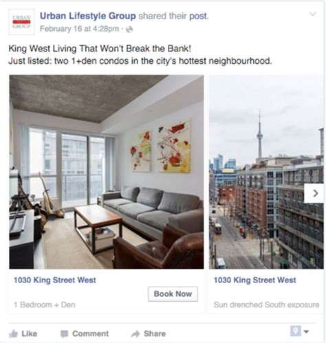 real estate facebook pages curaytor