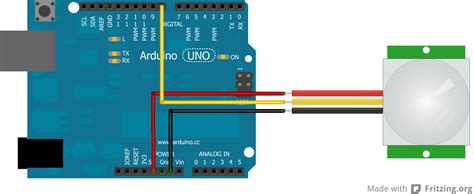 pir sensor hc sr robotic controls