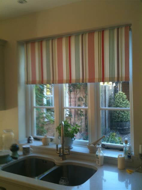 Kitchen Blinds With Curtains Laminated Roller Blinds