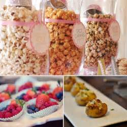 foody baby shower food ideas