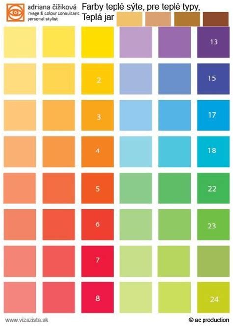 saturated colors palette 1 for warm your colours are saturated
