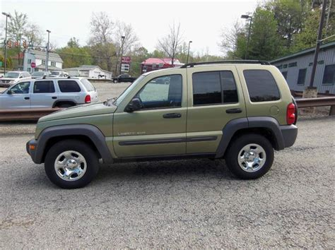 Pleasant Chrysler Jeep Pa 2003 Jeep Liberty Sport 4dr 4wd Suv In Mt Pleasant Pa