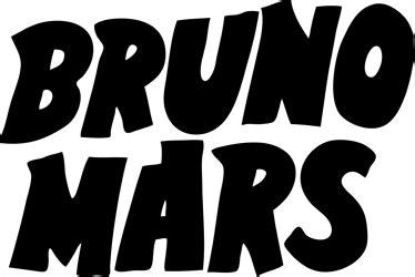 Bruno Mars Logo / Music / Logonoid.com