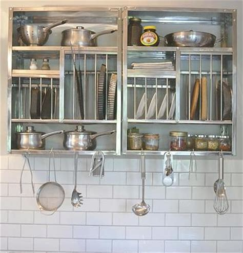 Stainless Steel Wall Mounted Plate Rack by Stainless Steel Kitchen Rack