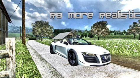 Audi R8 Spider v 2.0 MR [MP] ? Farming simulator 2013 Mod Farming Simulator Mods