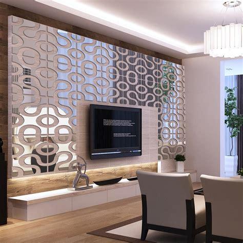 modern design diy acrylic mirror wall art home decor