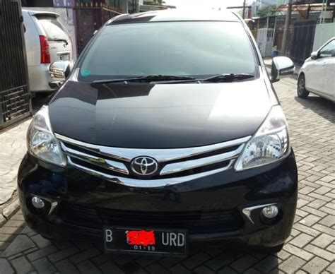 Lu All New Avanza toyota all new avanza g 1 3 mt 2013 hitam mobilbekas