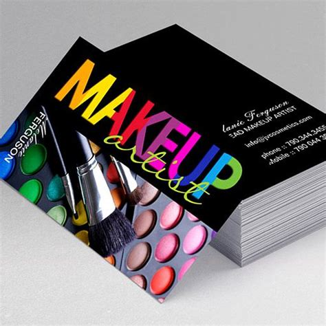 3249 makeup artist business cards templates makeup artist business 3249 makeup artist business cards templates 164 best images about most unique business cards on flashek Images