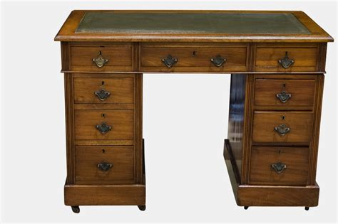 Small Desk With Drawer Small 9 Drawer Desk 253477 Sellingantiques Co Uk