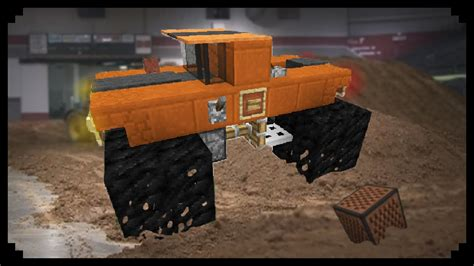 minecraft truck stop minecraft how to make a monster truck youtube