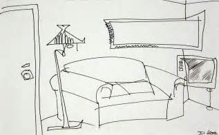 online room sketch living room drawing by denny casto