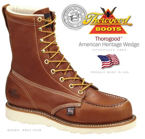 Kickers America Safety thorogood work boots safety and non safety american