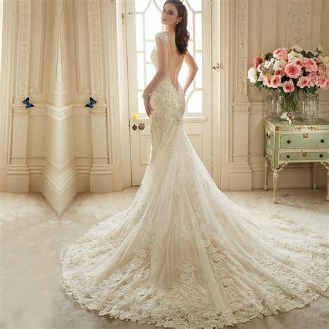 imagenes de vestidos de novia en nicaragua vestido de noiva renda 2016 do la 231 o do vintage backless