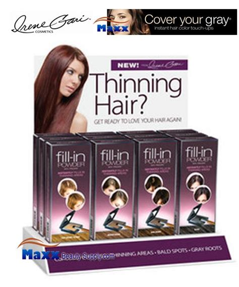 hair fill in pieces for thinning hair fisk irene gari cover your gray fill in powder for