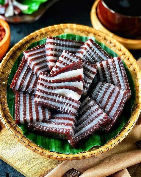 resep kue lapis coklat kenyal  sajian arisan