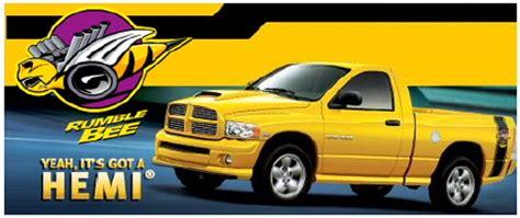 2004 dodge ram rumble bee truck information| mymopartruck.com