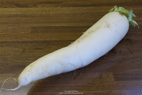 daikon radish fruits and veggies raw health and happiness