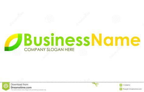 green yellow logo green and yellow company logo stock photography image