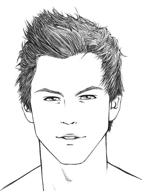 front face hair styles sketches best 25 drawing male hair ideas on pinterest drawing