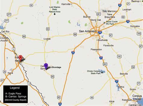 eagle pass texas map texas map eagle pass
