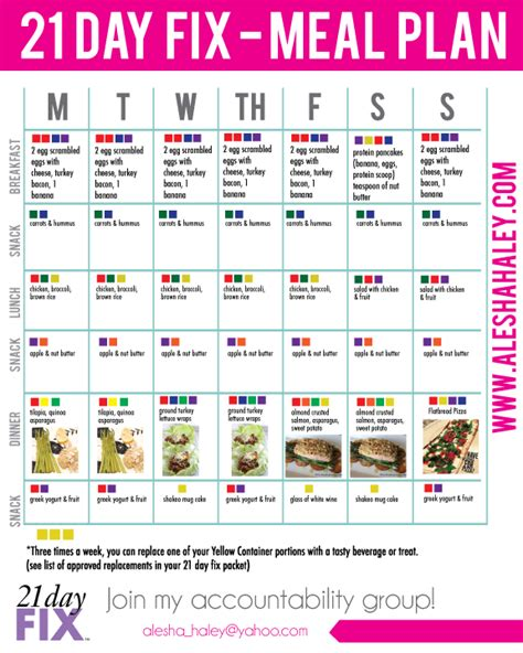 printable meal prep plan printable meal planner prep calendar template 2016