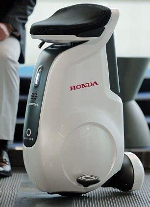 Honda Unicycle Honda Unveils No Techno Unicycle Where Robotic