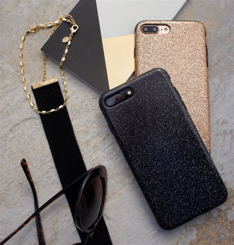 black  gold glam case  iphone  iphone    elemental cases iphone