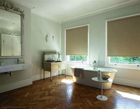 patterned blinds for bathrooms fabulous cream and brown patterned waterproof bathroom
