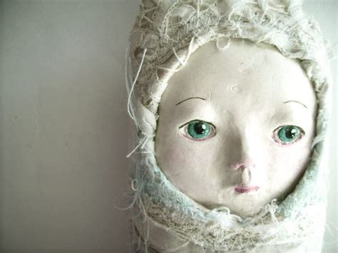 Paper Mache Clay - tutorial make a doll s using paper mache paste