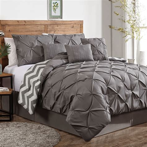 gray comforter sets queen thrifty and chic diy projects and home decor