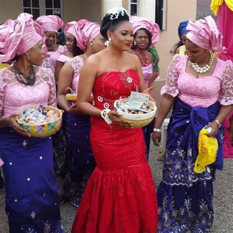Nigerian Home Decor by Collection Of Female Traditional Wedding Attire In Nigeria