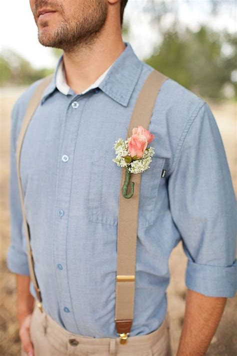 mens wedding attire with suspenders groomsmen in suspenders groomsmen