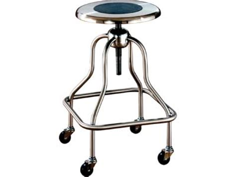 Stainless Steel Stools For Cleanroom by Stool Stainless Steel Adjusts 25 Quot 31 Quot