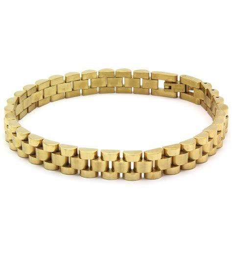 mens 14k gold plated 9mm stainless steel best hip hop